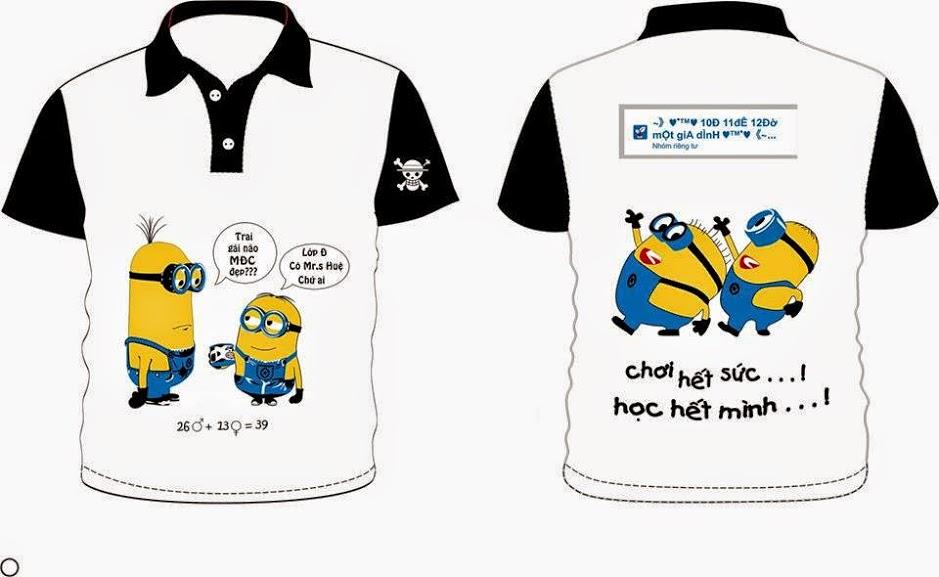 In áo thun theo yêu cầu sao cho đẹp và rẻ tại TP.HCM
